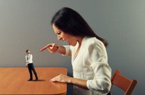 Kobieta, mężczyzna - kłótnia
