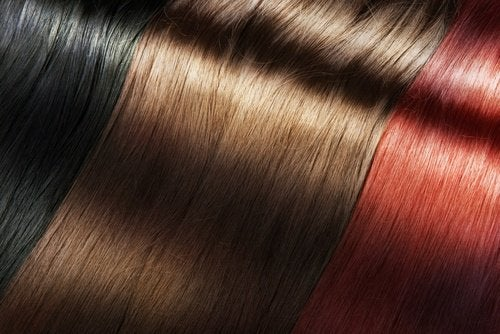 Farbowanie włosów: czarne, brązowe i rude