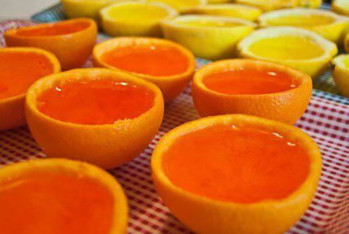 pomarańcze z galaretką