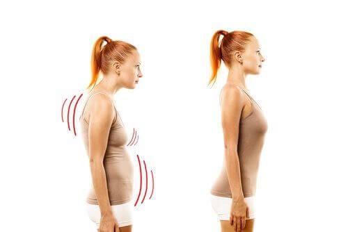 postura kobiety