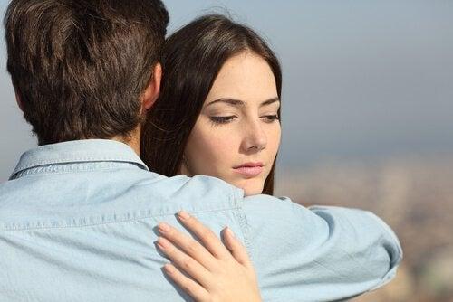 Uścisk, przytulenie
