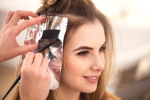 Pielęgnacja włosów - folia aluminiowa