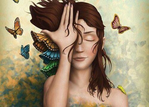 wolny duch motyle