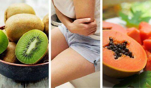 zaparcia koktajle owocowe