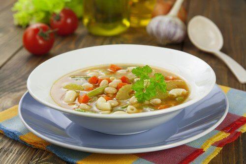 zupa na talerzu
