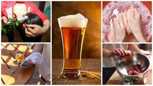 piwo - zastosowanie w domu