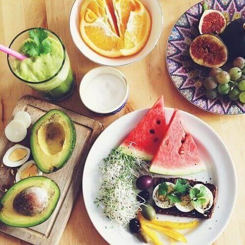 awokado i arbuz