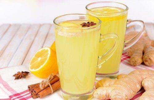 Herbata imbirowa na infekcje i kamienie nerkowe