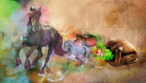 konie obraz
