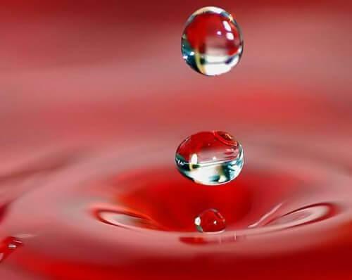 krople wody