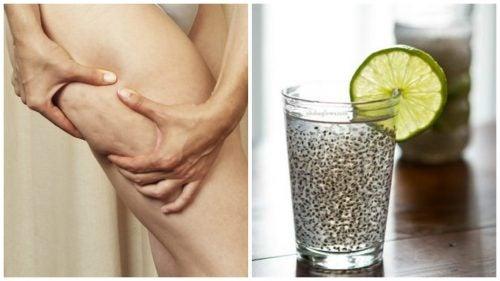 Napój leczniczy z lnem na cellulit i dla lepszej kondycji skóry