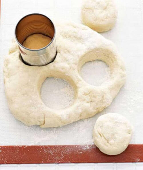 puszka wycinanie ciasteczek