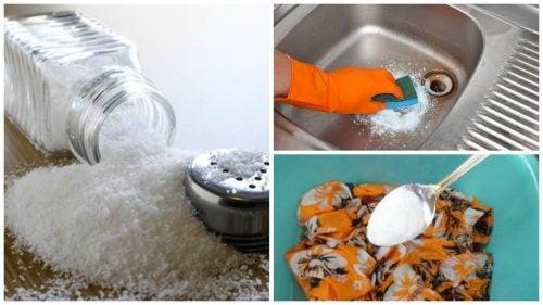 Sól – wykorzystaj ją do sprzątania na 7 sposobów