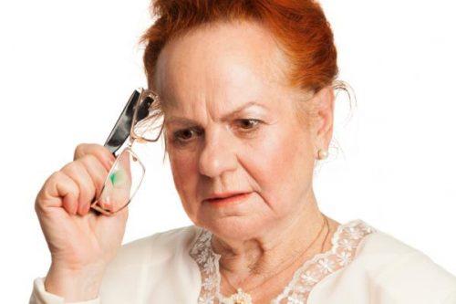 kobieta z demencją