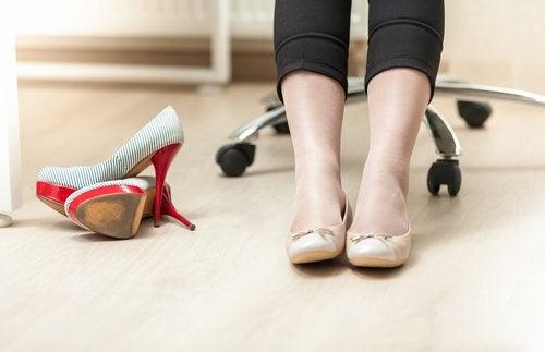 Wygodne obuwie