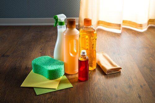 olejki eteryczne jako detergenty