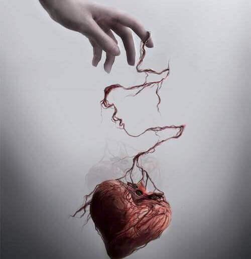 dłoń i serce