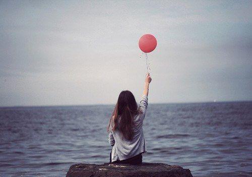 dziewczyna z balonikiem
