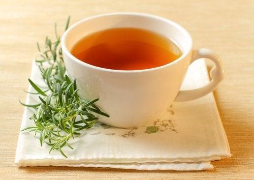 herbata z rozmarynu na trądzik