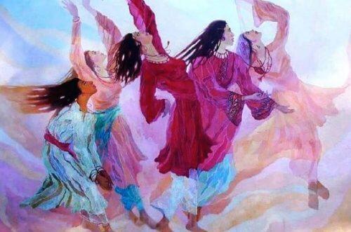 Tańczące kobiety - zaufaj intuicji