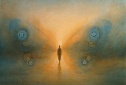 Człowiek - motyl