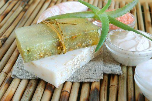 Antybakteryjne mydło glicerynowe