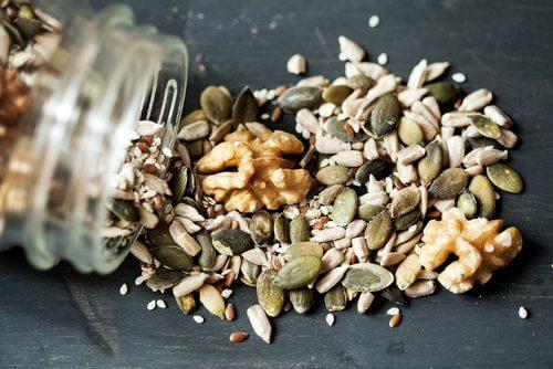 Nasiona - zdrowe zielone koktajle