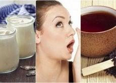 Nieświeży oddech - naturalne sposoby