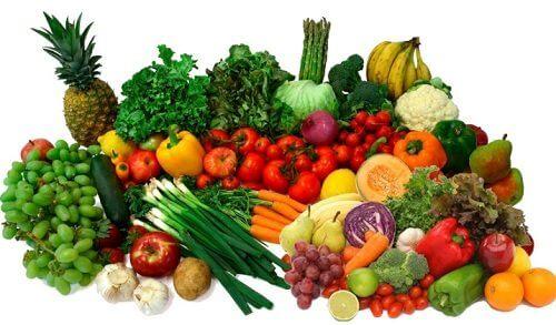 Owoce i warzywa na stany zapalne