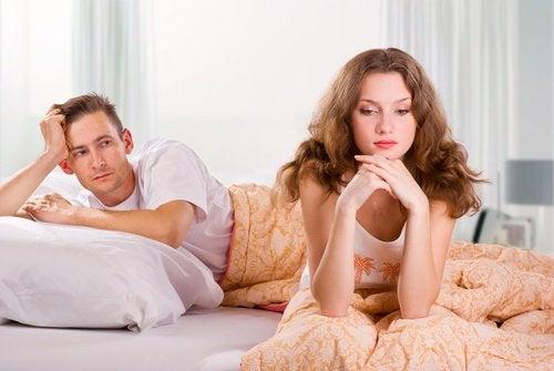 Konflikt między kobietą i mężczyzną