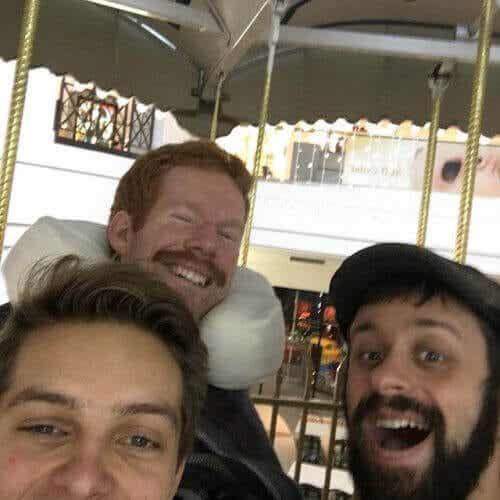 Podróż z niepełnosprawnym przyjacielem po Europie