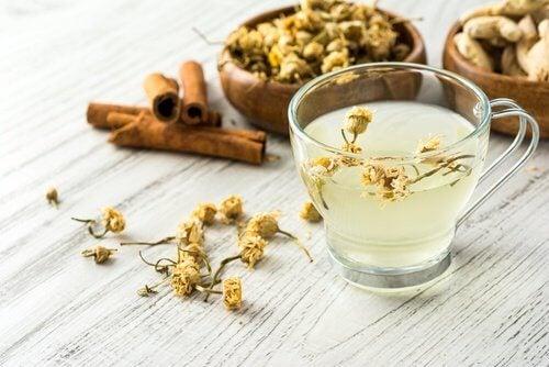 Rumianek i cynamon - napar