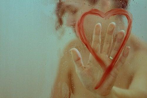 serce na szkle, użalanie się nad sobą