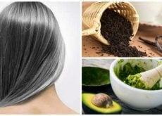 siwe włosy domowe sposoby