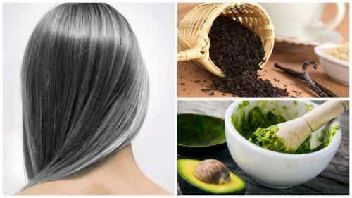Siwe włosy - 6 domowych metod zapobiegania temu zjawisku