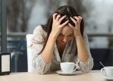 Smutna kobieta - narzekanie