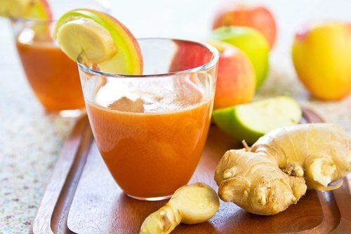 Sok z marchwi i imbiru - korzyści zdrowotne
