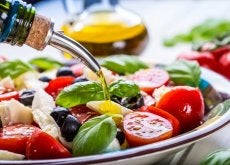 Wielkość porcji warzyw na talerzu