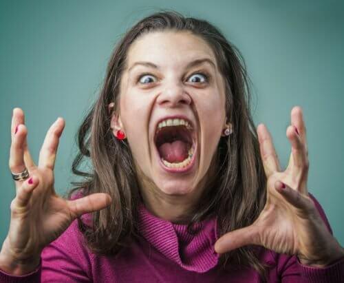 Wściekła kobieta