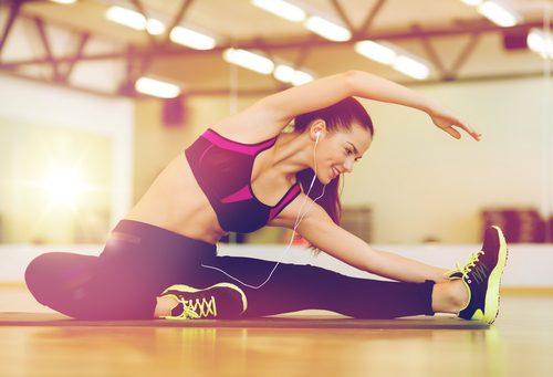 Ćwiczenie rozciągające plecy