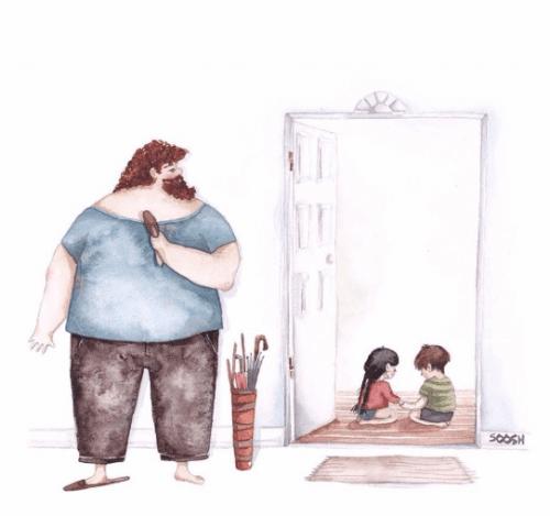 Dzieci i rodzic