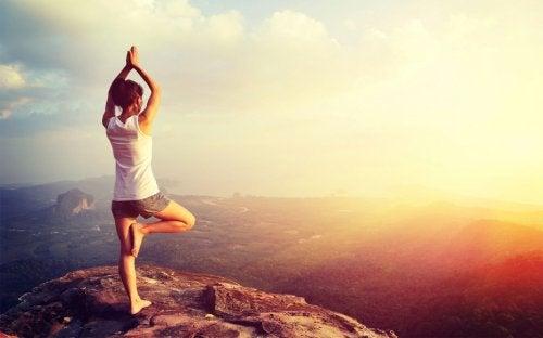 joga na świeżym powietrzu