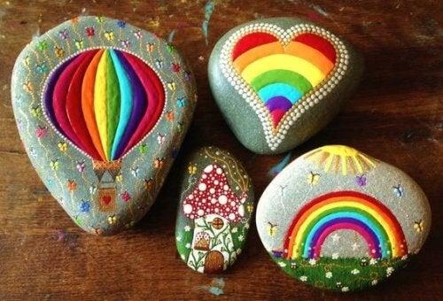 Kamienie - balony