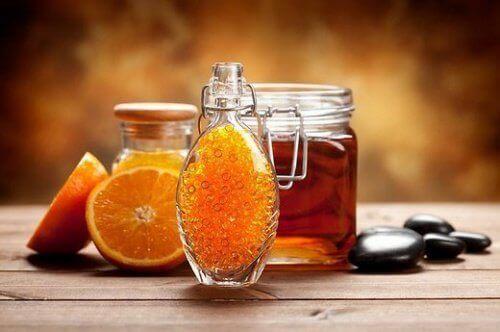 Miód i pomarańcze