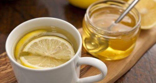 Napar z miodu i cytryny