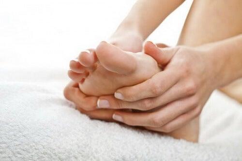 Obrzmiałe stopy