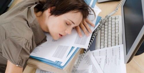 wyczerpanie pracą