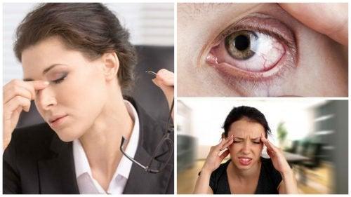 Suchość oczu i ich zmęczenie – 8 objawów