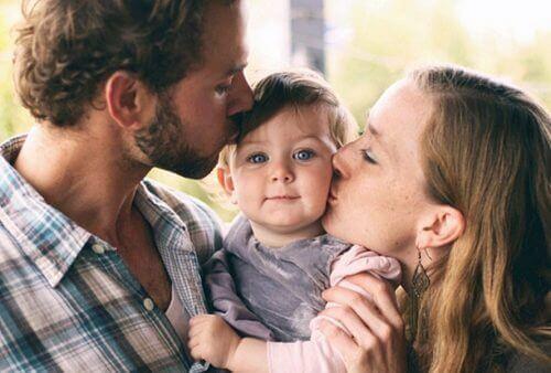 rodzice to wzór, dlatego kłótnie na oczach dzieci są niewskazane