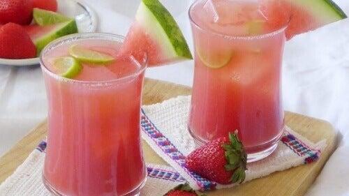 arbuz sok odchudzające napoje